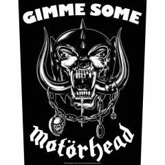 Motörhead Gimme Some Rückenaufnäher