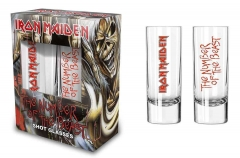 Shotglas - Schnapsglas - Iron Maiden Number of the Beast