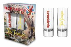 Shotglas - Schnapsglas - Iron Maiden The Trooper
