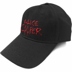 Baseball Cap Alice Cooper Dripping Logo