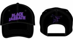 Baseball Cap Black Sabbath Logo & Devil