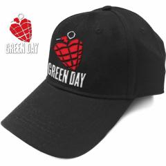 Baseball Cap Green Day Grenade Logo