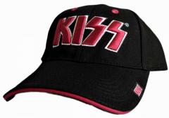 Baseball Cap Kiss Logo