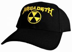 Baseball Cap Megadeth Hazard Logo
