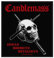 Candlemass Epicus Doomicus Metallicus Aufnäher