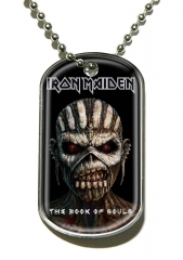 Iron Maiden The Book Of Souls Merchandise Dog Tag