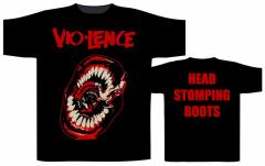 Vio-Lence Head Stomping Boots T-Shirt