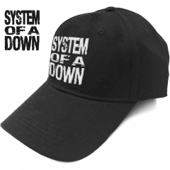 Baseball Cap System Of A Down Stacked Logo