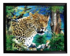 3D Bild Leopard
