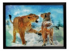 3D Bild Löwen