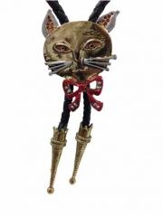 Bolokrawatte Katze