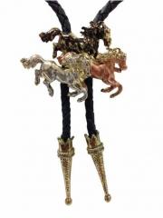 Bolokrawatte - Horse Trio