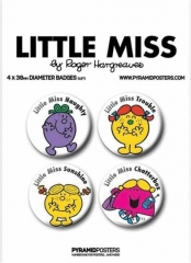 Button Pack - Little Miss