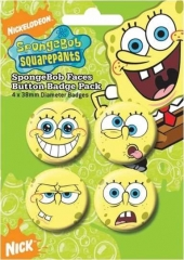 Button Pack - Spongebob