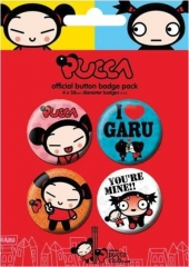 Button Pack - Pucca