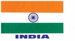 Aufkleber India