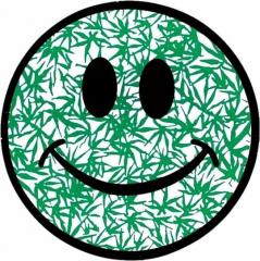 Aufkleber Smiley