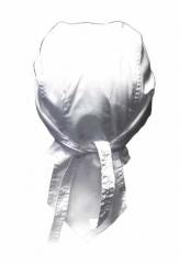 Bandana Kopftuch Weiß Uni