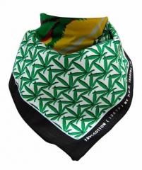 Trendy Cannabis Bandana Halstuch