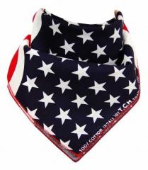 Biker Bandana Scarf USA Flag