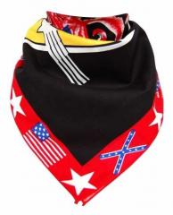 USA Bandana Halstuch Totenkopf