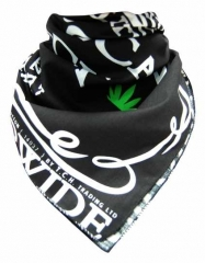 Trendy Bandana Halstuch Cannabis