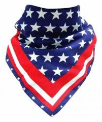 Biker Bandana Halstuch Amerika Fahne
