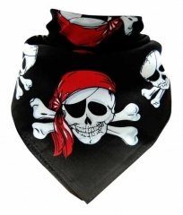 Bandana Halstuch Piratentotenköpfe