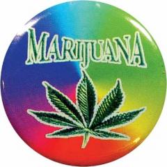 Anstecker Sign Of Marijuana