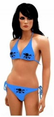 Bikini mit Grossen Totenköpfen