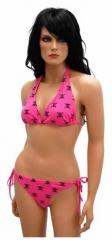 Bikini mit Totenköpfen