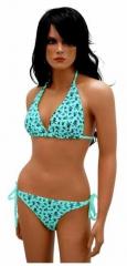 Bikini mit Mini Totenköpfen