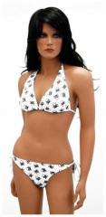 Bikini mit Piratentotenköpfen
