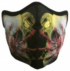 Biker Maske Spider