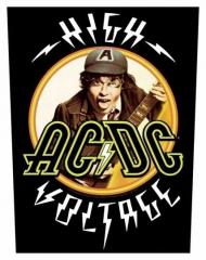 AC/DC High Voltage Rückenaufnäher