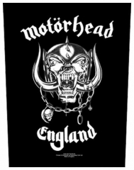 Motörhead England Backpatch