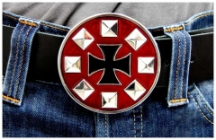 Belt Buckle Cross