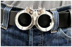 Gürtelschnalle Handcuffs