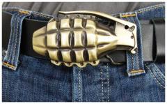 Gürtelschnalle Grenade
