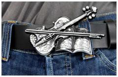 Gürtelschnalle Violin