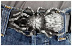 Gürtelschnalle Spider