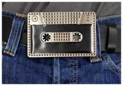Gürtelschnalle Cassette