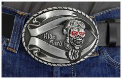 Gürtelschnalle Ride Hard