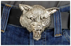 Gürtelschnalle Iron Wolf