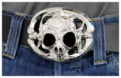 Belt Buckle Alien