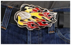 Belt Buckle Burning eagle