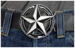Gürtelschnalle Star
