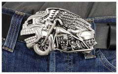 Gürtelschnalle Skull Rider