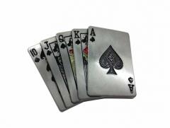 Gürtelschnalle Cards