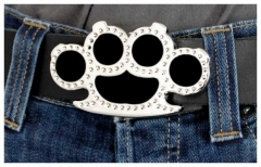 Belt Buckle Brass Knuckles